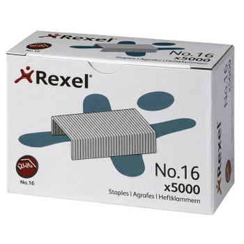 Rexel No. 16 24/6mm Staples 5000 Pack