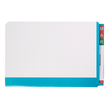 Avery Fullvue Shelf Lateral Foolscap Light Blue Tab File 165715LBL
