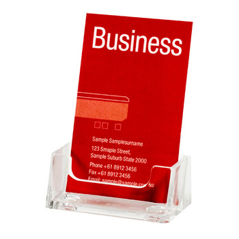 Esselte 45358 Business Card Holder Portrait