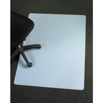 Marbig Polypropylene Chairmat rectangle 1200 x 1500mm Ice