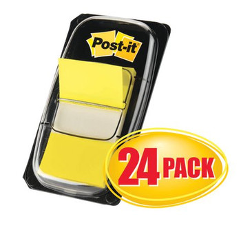 Post-it Flags Cabinet Pack 680-5-24 Yellow Pk/24