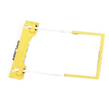 Avery Tubeclip Fasteners Yellow 44005Y Box 10