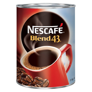 Nescafe Blend 43 Instant Coffee Can 1KG