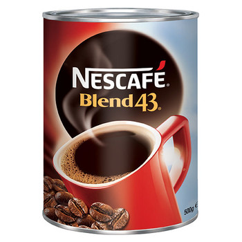 Nescafe Blend 43 Instant Coffee Can 500g