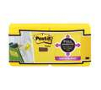 Post-it F330-12SSY Yellow Super Sticky Full Adhesive Notes 76x76mm 12/Pack