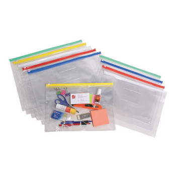 Marbig Clear Cases A5 235mm x 185mm Assorted
