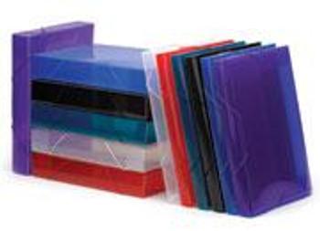 Avery Translucent File A4 50mm Polypropylene Red