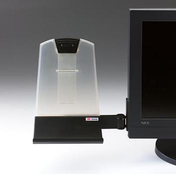 3M DH445 Flat Panel Document Holder Black