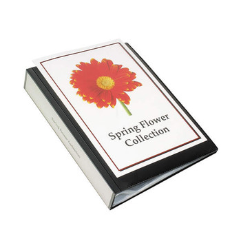 Marbig Clearview Display Book A4 Black 24Page