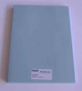 Colourboard Light Blue A4 210x297mm 50/Pack