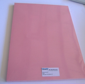 Colourboard Pink A4 210x297mm 50/Pack