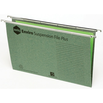 Marbig Suspension files Enviro w/tabs & inserts Shrinkwrapped Pack 10