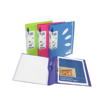 Marbig ColourHide® My Binder 2D 25mm Pink 5600109