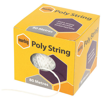 Marbig Poly String 80m White