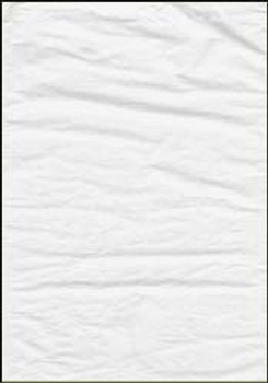 Crepe Paper 500mm x 2.5m 6 Sheets/Pack WHITE