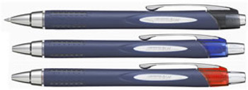 Uniball Jetstream Retractable Rollerball Pen Fine Blue Pk/12 SXN-217