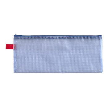 Marbig PVC Mesh Medium Pencil Case 342 x 133mm