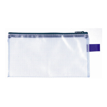 Marbig PVC Mesh Small Pencil Case 114 x 215mm