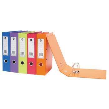 Marbig PVC Summer Colour Lever Arch File A4 Purple