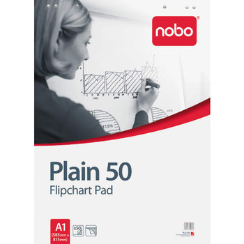 Nobo® Flip Chart Pad - Economy White 19030