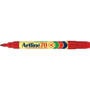 Artline 70 Permanent Marker Red
