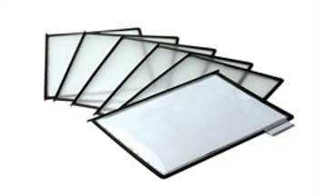 Tudor Flip-N-Find Black Panels Box 10 including Tabs & Inserts 142480
