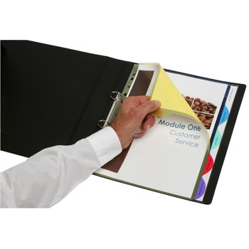 Marbig A4 5-Tab Coloured Extra Wide Dividers 37845