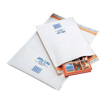 Jiffy Lite Bubble-Lined Mailing Bags Size00 125x225mm Bx/240