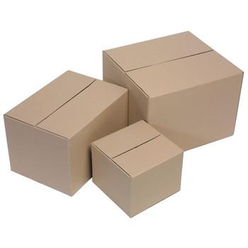 Marbig Enviro Packing Carton/Box (size 3) 420x400x300 10/Pack Brown