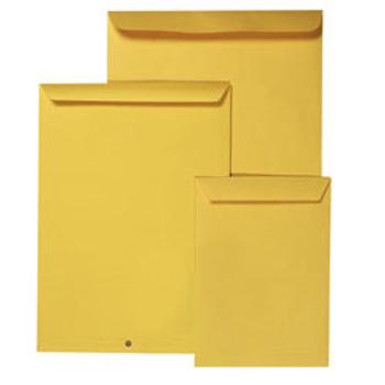 Envelope 324X229 C4 Kraft Pocket Zipseal 27560