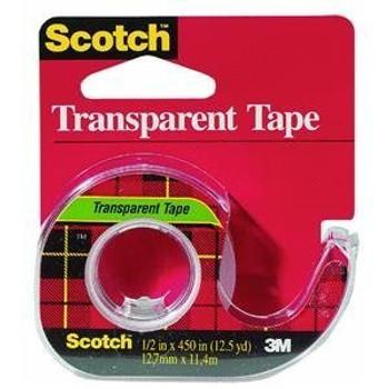 Scotch 144 Transparent Tape 12mm x 11.4mm