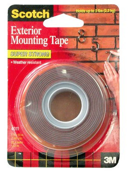 Scotch 4011 Exterior Mounting Tape 25.4 x 1.51mm