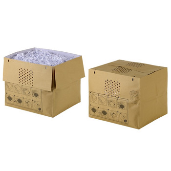 Rexel Auto+250 Recyclable Shredder Paper Bags Box of 20 1765029EU