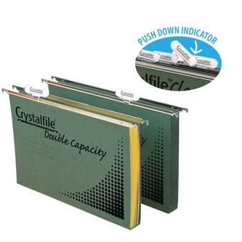 Crystalfile 111280C A4 Suspension Files Only Box 50