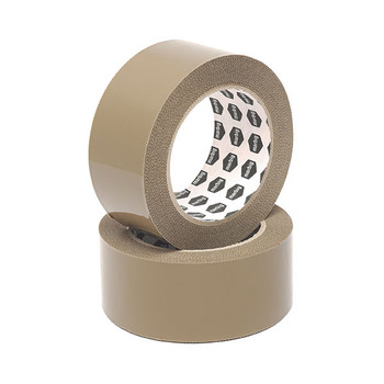 Marbig Packaging Tape 48mmx75m Brown Pack 6