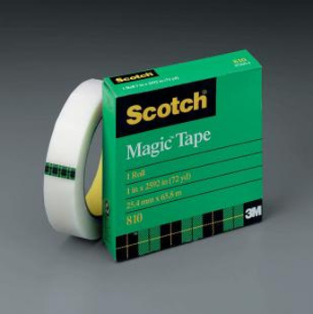 Scotch 810 Scotch Magic Invisible Tape 24mm x 66m