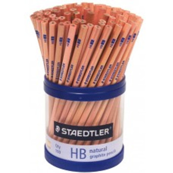 Staedtler Natural HB Graphite Pencil Cup Of 100