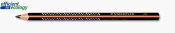 Staedtler 1285-1 Jumbo Triangular Graphite Pencils 2B 12/PK