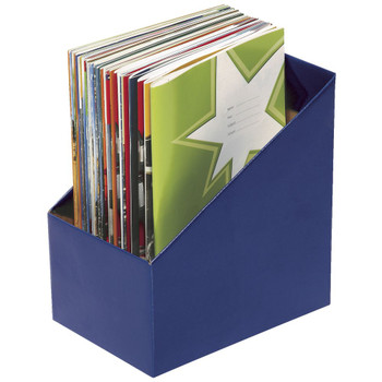 Marbig Book Box large Blue PK 5