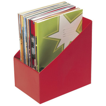 Marbig Book Box large Red PK 5
