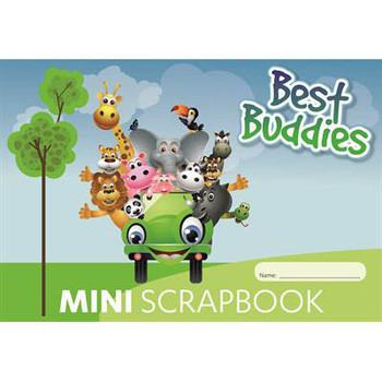 Best Buddies Mini Scrap Book 64 Page 100gsm
