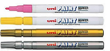 UNI Paint Marker 0.8-1.2mm Fine PX-21 White
