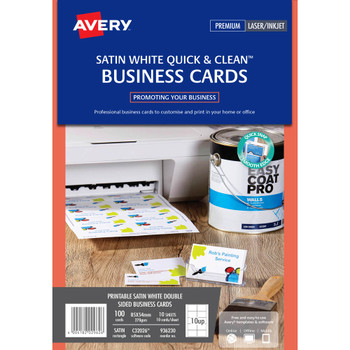AVERY 936230 business cards