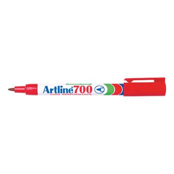 Artline 700 Permanent Marker Red 0.7mm