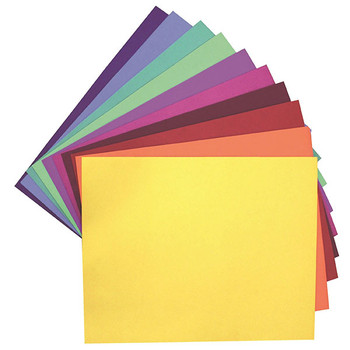 Colourboard Assorted Colour A3 210gsm 297x420mm 100/Pack