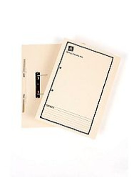 Avery 86804 Buff Spring Transfer File Black Print Foolscap 25/Box