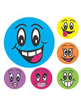 Avery Merit 69619 Smiley Face 102 Stickers/Pack