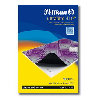 Pelikan Carbon Paper Ultrafilm Type Film A4 100/P Black