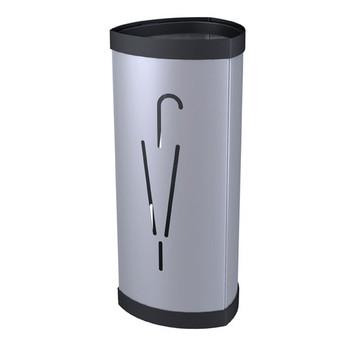 Alba Umbrella Stand Steel Silver 0400080