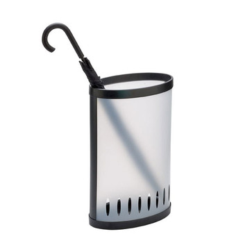 Alba Umbrella Bin Frost / Black 0360510